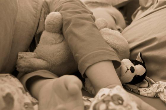 niño descansando