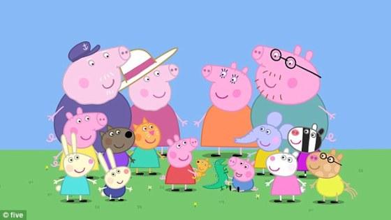 Peppa y familia
