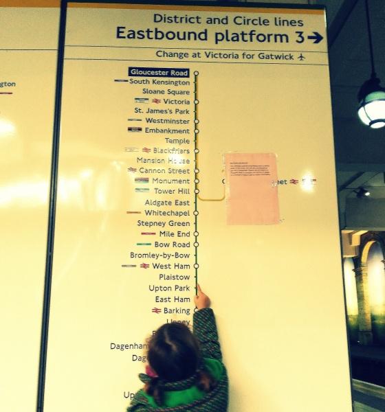 Encantadísima con el metro